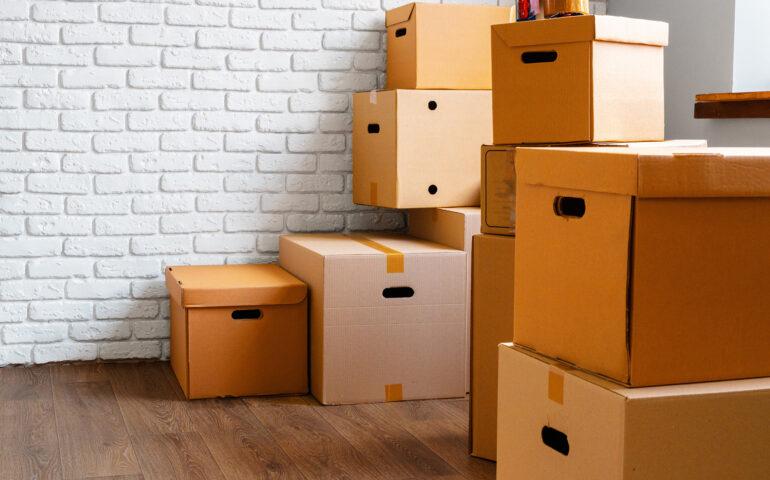 Verpackungsmaterial und Umzugskartons