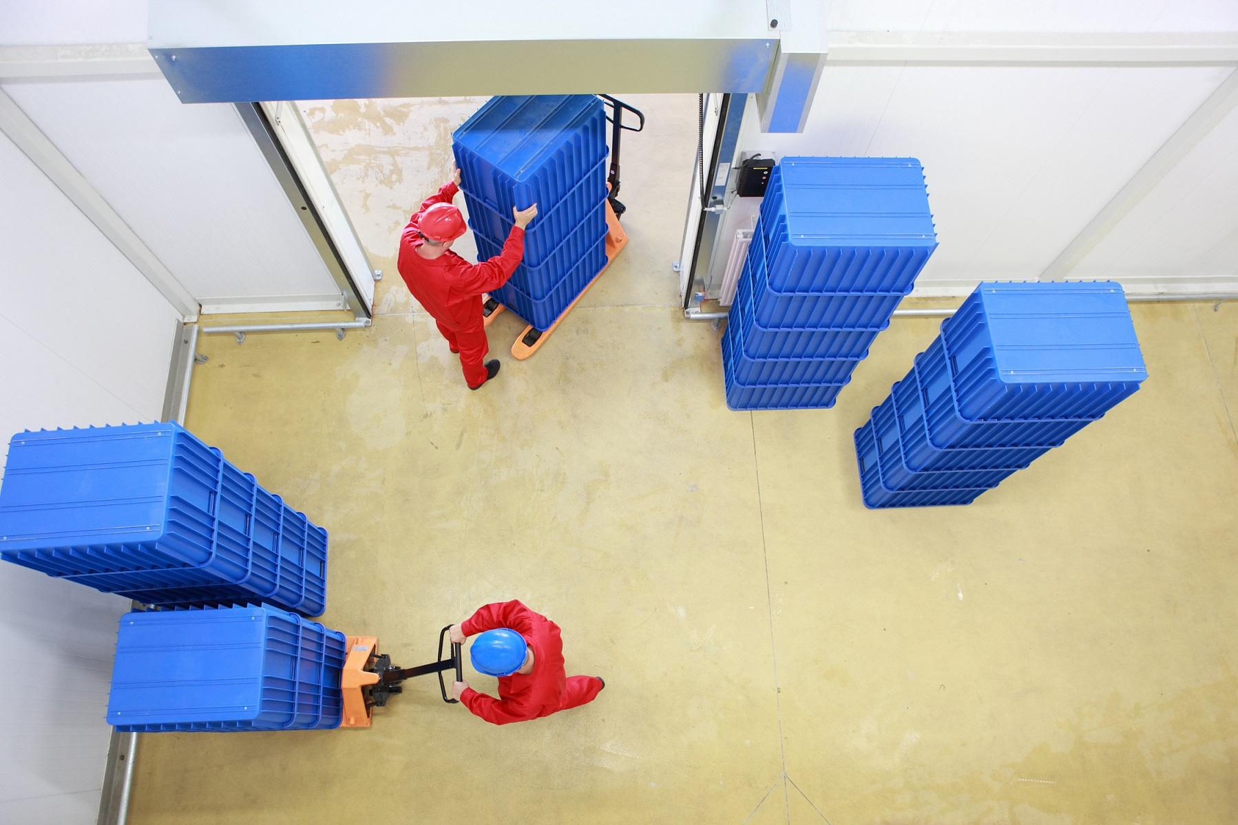 Faltboxen aus Kunststoff