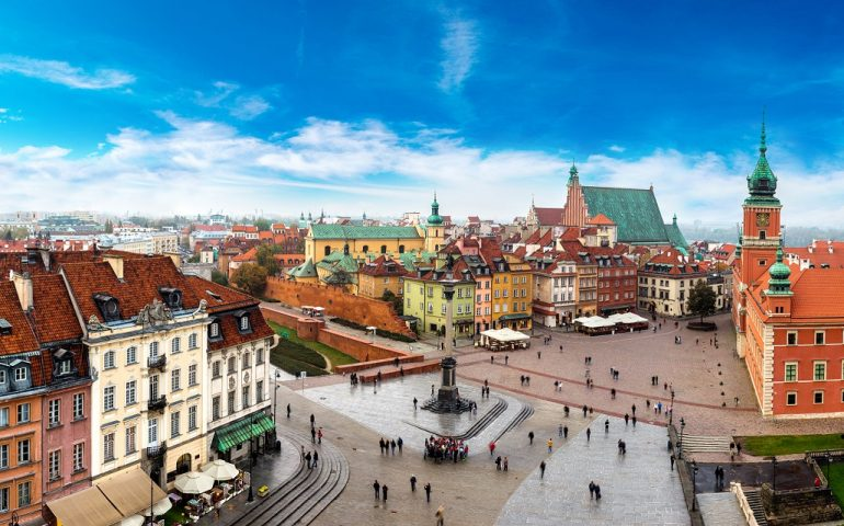 Umzug nach Polen